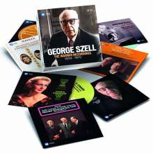 George Szell - The Warner Recordings 1934-1970, 14 CDs
