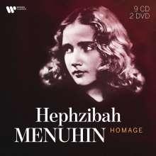 Hephzibah Menuhin - Homage, 9 CDs und 2 DVDs