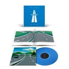 Kraftwerk: Autobahn (180g) (Limited Edition) (Translucent Blue Vinyl) (2009 remastered), LP