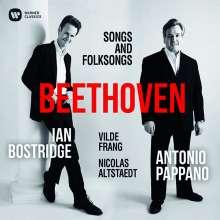 Ludwig van Beethoven (1770-1827): Lieder & Folksongs, CD