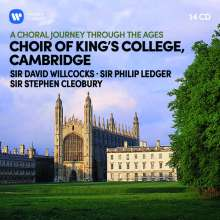 King's College Choir Cambridge - A Choral Journey through the Ages, 14 CDs
