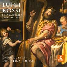 "Luigi Rossi (1598-1653): Kammerkantaten ""La Lyra d'Orfeo & Arpa Davidica"" (Deluxe-Edition / Hardcover-Booklet), 3 CDs"