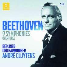 Ludwig van Beethoven (1770-1827): Symphonien Nr.1-9 (Vorab exklusiv für jpc), 5 CDs