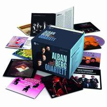 Alban Berg Quartett - The Complete Recordings, 62 CDs und 8 DVDs