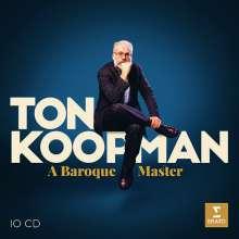 Ton Koopman - A Baroque Master, 10 CDs