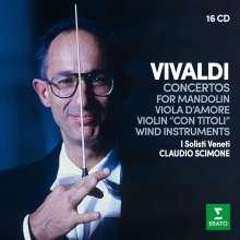 Antonio Vivaldi (1678-1741): Concerti, 16 CDs