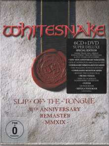 Whitesnake: Slip Of The Tongue (Super Deluxe Edition) (2019 Remaster) (30th Anniversary Edition), 7 CDs