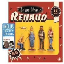 Renaud: The Meilleur Of Renaud / Les Raretés, 2 CDs