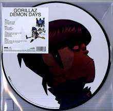Gorillaz: Demon Days (Picture Disc), 2 LPs