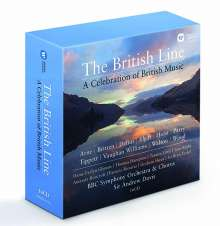 The British Line - A Celebration of British Music, 16 CDs