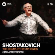 Dmitri Schostakowitsch (1906-1975): Symphonien Nr.1-15, 12 CDs