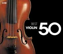 50 Best Violin, 3 CDs