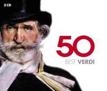 Giuseppe Verdi (1813-1901): 50 Best Verdi, 3 CDs