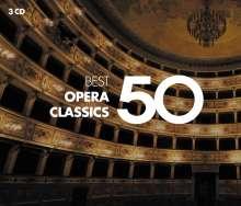 50 Best Opera Classics, 3 CDs