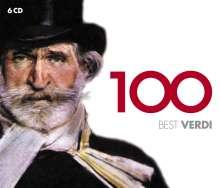 Giuseppe Verdi (1813-1901): 100 Best Verdi, 6 CDs