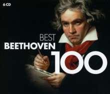 Ludwig van Beethoven (1770-1827): 100 Best Beethoven, 6 CDs