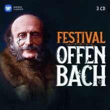 Jacques Offenbach (1819-1880): Jacques Offenbach Festival, 3 CDs
