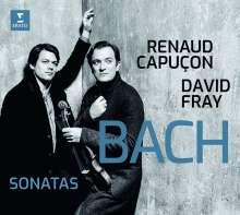 Johann Sebastian Bach (1685-1750): Sonaten für Violine & Klavier BWV 1016-1019, CD