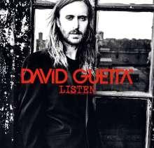 David Guetta: Listen (Silver Vinyl) (Limited-Edition), 2 LPs