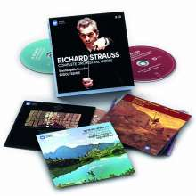 Richard Strauss (1864-1949): Rudolf Kempe dirigiert Richard Strauss, 9 CDs