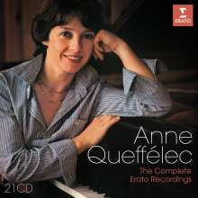 Anne Queffelec - The Complete Warner Recordings, 21 CDs