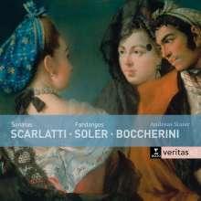 Andreas Staier - Sonatas & Fandangos, CD