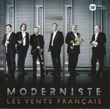 Les Vents Francais - Moderniste, 2 CDs