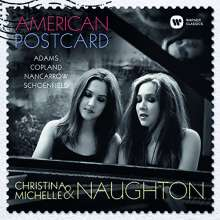 Amerikanische Musik für 2 Klaviere - American Postcard, CD