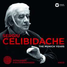 Sergiu Celibidache - The Munich Years, 49 CDs