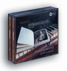 Georg Friedrich Händel (1685-1759): Klaviersuiten Nr. 1-16 (exklusiv für jpc), 4 CDs