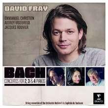 Johann Sebastian Bach (1685-1750): Klavierkonzerte BWV 1060-1063,1065, CD