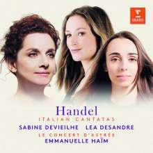Georg Friedrich Händel (1685-1759): Italienische Kantaten, CD