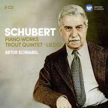 Franz Schubert (1797-1828): Klavierwerke, 5 CDs