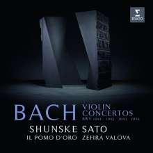 Johann Sebastian Bach (1685-1750): Violinkonzerte BWV 1041-1043,1056, CD