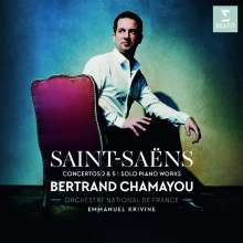 Camille Saint-Saens (1835-1921): Klavierkonzerte Nr.2 & 5, CD