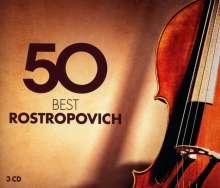 Mstislav Rostropovich - 50 Best Rostropovich, 3 CDs
