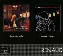 Renaud: Coffret 2CD (Boucan d'enfer/Tournée d'enfer), 3 CDs
