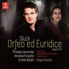Christoph Willibald Gluck (1714-1787): Orfeo ed Euridice (Neapel-Fassung 1774), CD