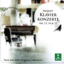 Wolfgang Amadeus Mozart (1756-1791): Klavierkonzerte Nr.13,14,23, CD