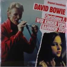 David Bowie: Filmmusik: Christiane F. - Wir Kinder vom Bahnhof Zoo (Red Vinyl), LP