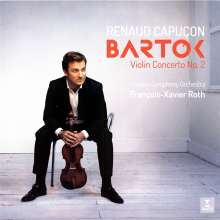Bela Bartok (1881-1945): Violinkonzert Nr.2, LP
