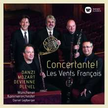 Les Vents Francais - Concertante!, 2 CDs