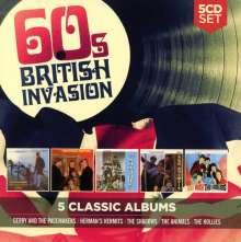 5 Classic Albums: 60s British Invasion, 5 CDs
