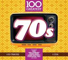 100 Greatest 70s, 5 CDs