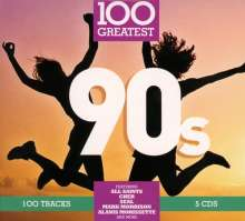 100 Greatest 90s, 5 CDs