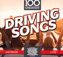 100 Greatest Driving Songs, 5 CDs