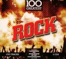 100 Greatest: Rock, 5 CDs