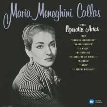 Maria Meneghini Callas sings Operatic Arias (180g), LP