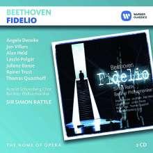 Ludwig van Beethoven (1770-1827): Fidelio op.72, 2 CDs