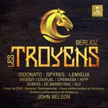 Hector Berlioz (1803-1869): Les Troyens (ungekürzte Originalfassung), 4 CDs